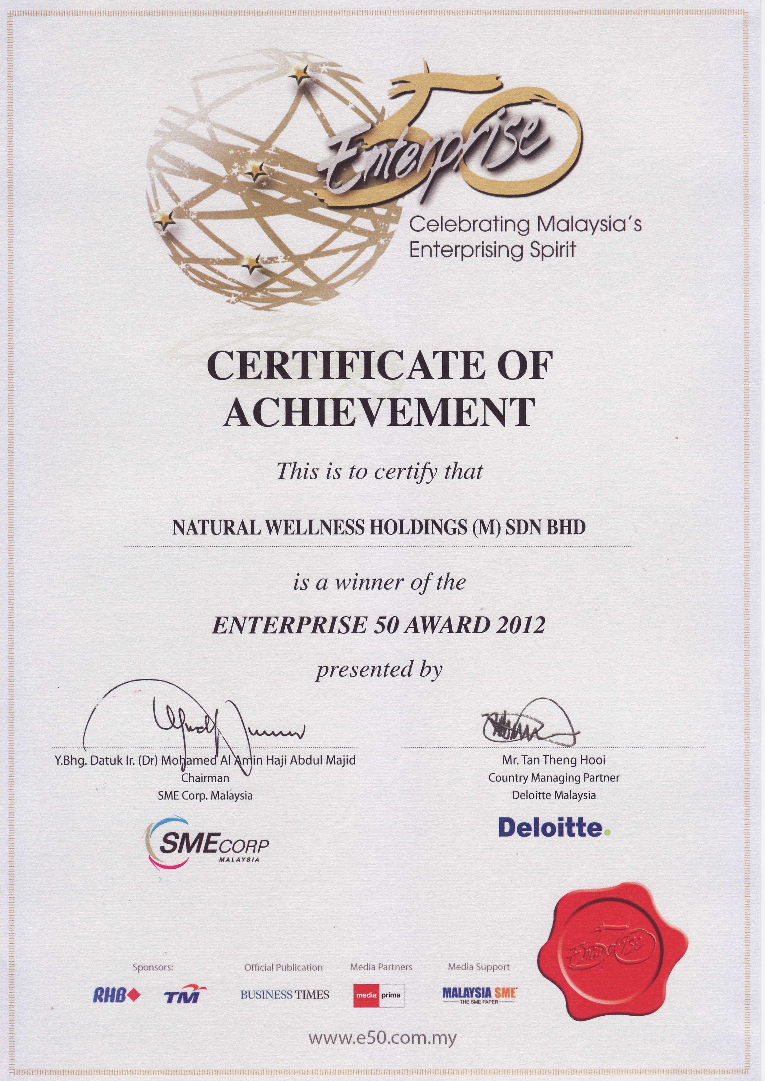 natural wellness holdings m sdn bhd